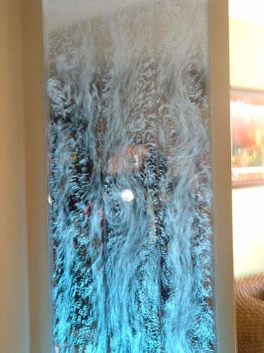 murs de bulles comme cloison de salon. Black Bedroom Furniture Sets. Home Design Ideas