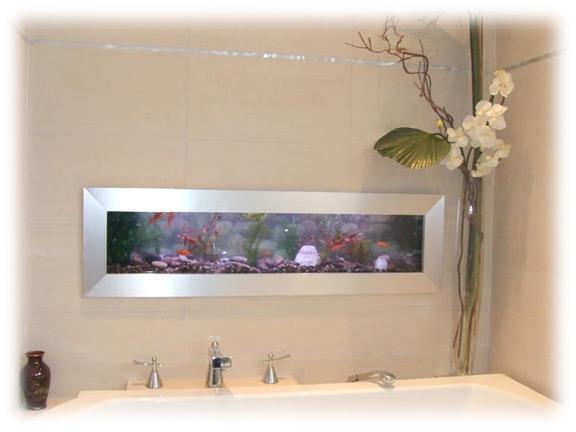 Cadre photo original mural pcs cadre photos mural grille for Aquarium cadre
