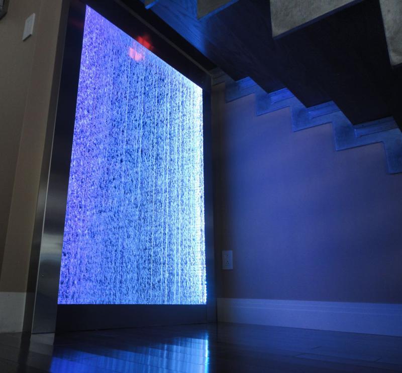 mur de bulles tanche aucune maintenance requise. Black Bedroom Furniture Sets. Home Design Ideas